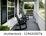 Front Porch Of Southern Home...
