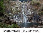 nunobiki falls are a few... | Shutterstock . vector #1196345923