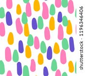 colorful dotted seamless... | Shutterstock .eps vector #1196346406