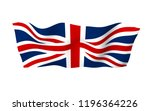 waving flag of the great... | Shutterstock . vector #1196364226