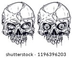 detailed graphic realistic cool ... | Shutterstock .eps vector #1196396203