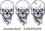 detailed graphic realistic cool ... | Shutterstock .eps vector #1196396209