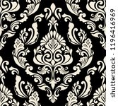 abstract damask seamless... | Shutterstock .eps vector #1196416969