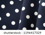 blue and white polka dot... | Shutterstock . vector #1196417329
