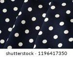 blue and white polka dot... | Shutterstock . vector #1196417350