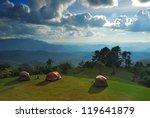 Triple Tent On Mountain View...