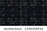 glitch. abstract shapes. chaos. ... | Shutterstock . vector #1196436916