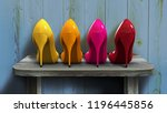 3d rendering of colorful and... | Shutterstock . vector #1196445856