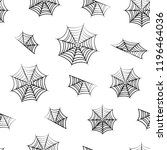 seamless pattern with black... | Shutterstock .eps vector #1196464036