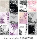 vintage greeting banners | Shutterstock .eps vector #119647609