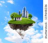 little fine island   planet. a... | Shutterstock . vector #119648236