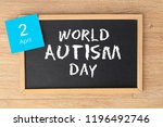 world autism day | Shutterstock . vector #1196492746