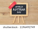 world autism day | Shutterstock . vector #1196492749