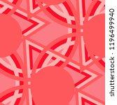 seamless pop art pattern.... | Shutterstock .eps vector #1196499940