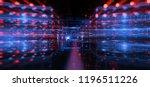 3d illustration. data storage... | Shutterstock . vector #1196511226