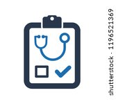 doctor appointment request icon | Shutterstock .eps vector #1196521369