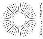 vintage sunburst explosion... | Shutterstock .eps vector #1196530966