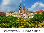 beautiful sightseeing with... | Shutterstock . vector #1196554846