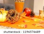 apple cider setting | Shutterstock . vector #1196576689
