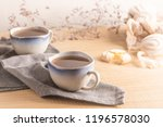 coockies with egg white cover.... | Shutterstock . vector #1196578030