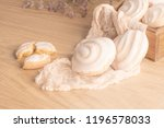 coockies with egg white cover.... | Shutterstock . vector #1196578033