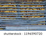 corn in the wooden barn. | Shutterstock . vector #1196590720