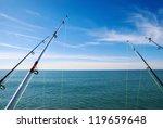Fishing On Deep Ocean Under...