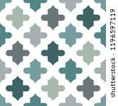 oriental traditional pattern.... | Shutterstock .eps vector #1196597119