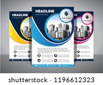 brochure template layout  cover ... | Shutterstock .eps vector #1196612323