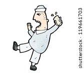 cartoon drunken sailor | Shutterstock .eps vector #119661703