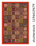 toraja traditional carving life ...   Shutterstock .eps vector #1196619679