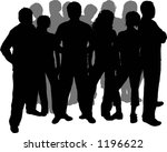 friends   vector | Shutterstock .eps vector #1196622