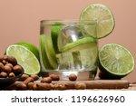 typical brazilian drink ... | Shutterstock . vector #1196626960