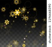 winter vector background with... | Shutterstock .eps vector #1196668390