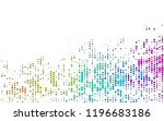 light multicolor  rainbow... | Shutterstock .eps vector #1196683186