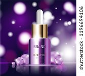 hydrating facial serum for... | Shutterstock .eps vector #1196694106