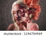 young beautiful girl elf.... | Shutterstock . vector #1196704969