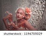 young beautiful girl elf.... | Shutterstock . vector #1196705029