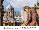 liverpool town hall behind the... | Shutterstock . vector #1196746789