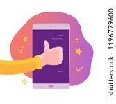 vector mobile app concept...