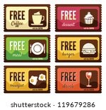 free labels | Shutterstock .eps vector #119679286