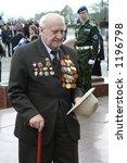 war veteran. victory day in...   Shutterstock . vector #1196798