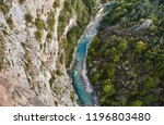 the deepest canyon in europe.... | Shutterstock . vector #1196803480