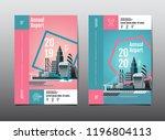 annual report 2019 2020  future ... | Shutterstock .eps vector #1196804113