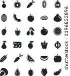 solid black flat icon set piece ... | Shutterstock .eps vector #1196822896