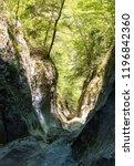 great mountain canyon in crimea | Shutterstock . vector #1196842360