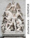 sculpture la resistance ... | Shutterstock . vector #119685418
