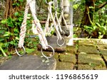 swing in the garden | Shutterstock . vector #1196865619