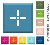 precise cursor white icons on... | Shutterstock .eps vector #1196873320