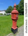 historic fire post outside...   Shutterstock . vector #1196884099